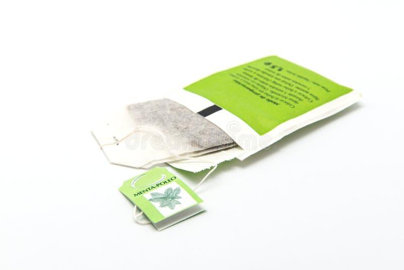 Avkokmintkaramell-pennyroyal fotografering för bildbyråer
