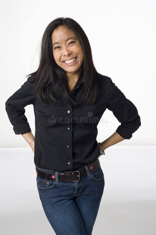 avkopplad setvietnameskvinna royaltyfri foto