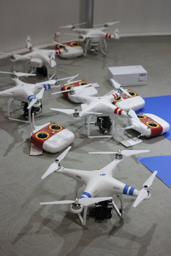 Avlägset fotografiflygplan arkivfoton