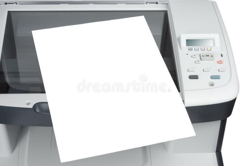 avläst papper arkivfoton