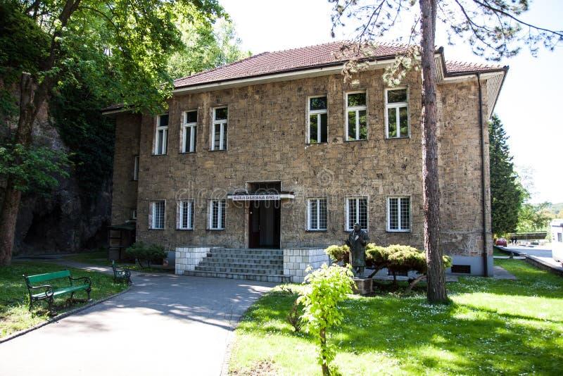 AVNOJ-museum @ Jaice stock fotografie