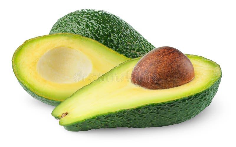 Download Isolated avocado stock image. Image of cutout, half, macro - 18305267