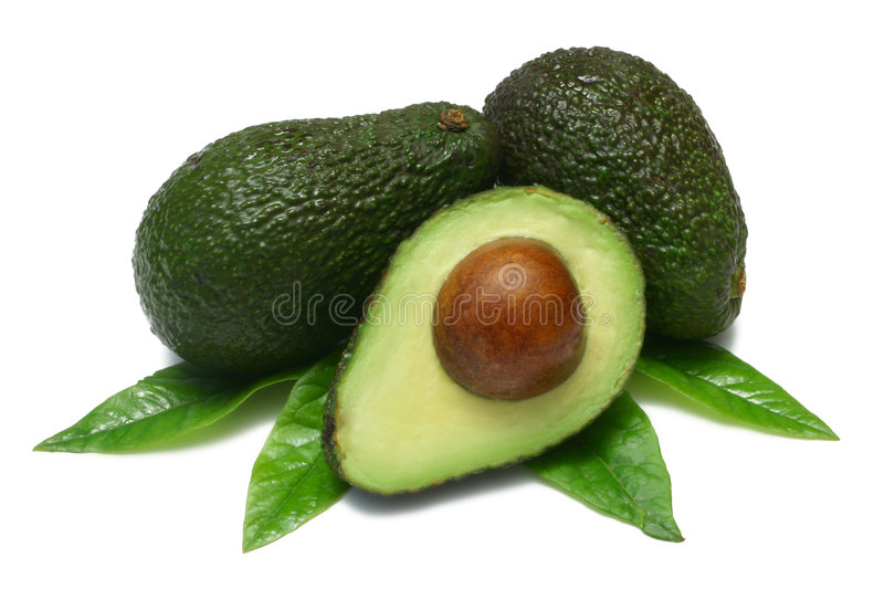 Avocado royalty-vrije stock fotografie