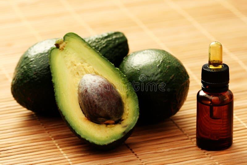 Avocado essential oil royalty free stock photo
