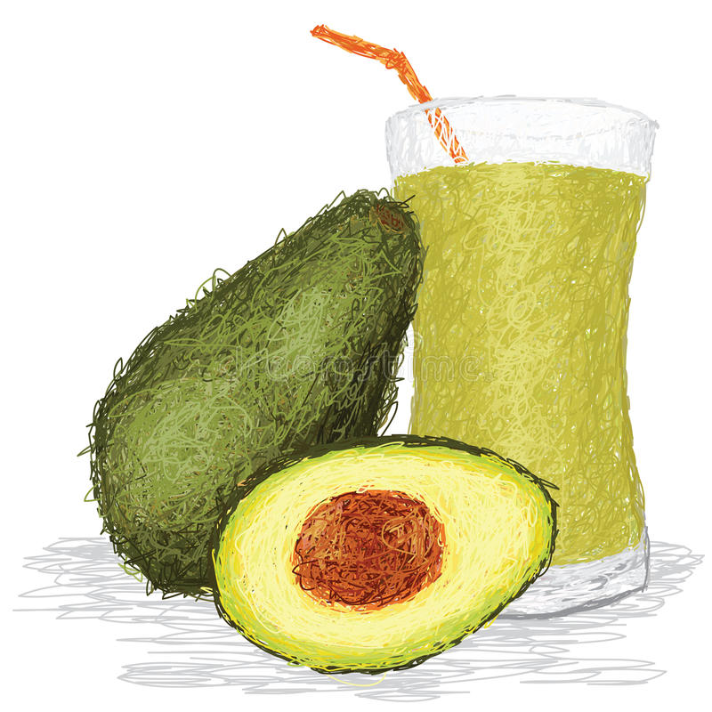 Download Avocado Fruit Juice Stock Photo - Image: 27312890