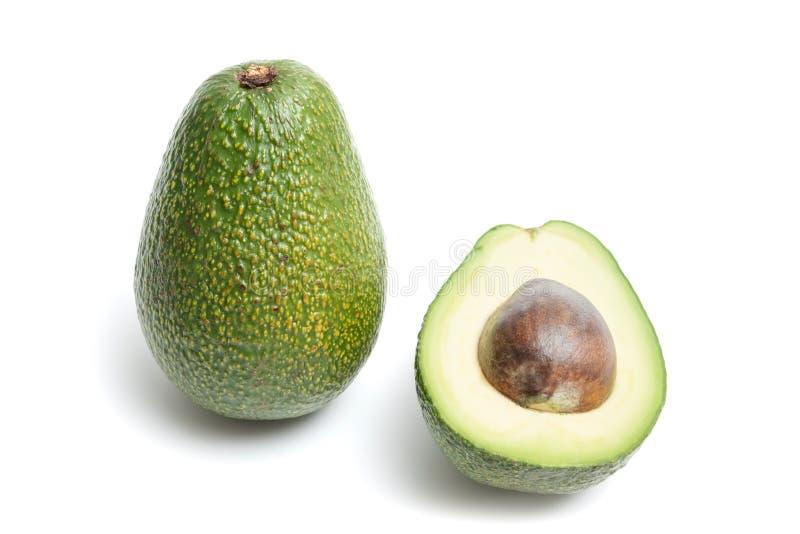 Avocado getrennt auf einem wei?en Hintergrund lizenzfreie stockbilder