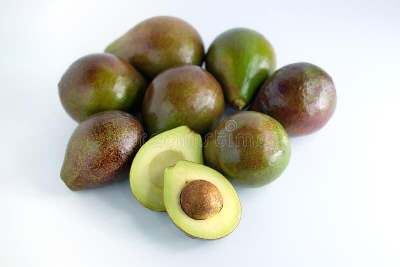 Avocado gezond fruit royalty-vrije stock afbeeldingen