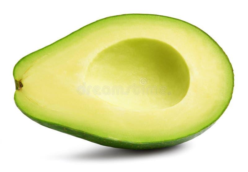 Avocado isolated on white royalty free stock photography
