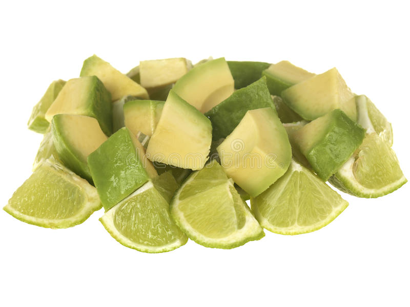 Download Avocado and Limes stock image. Image of life, ripe, bitter - 26332519