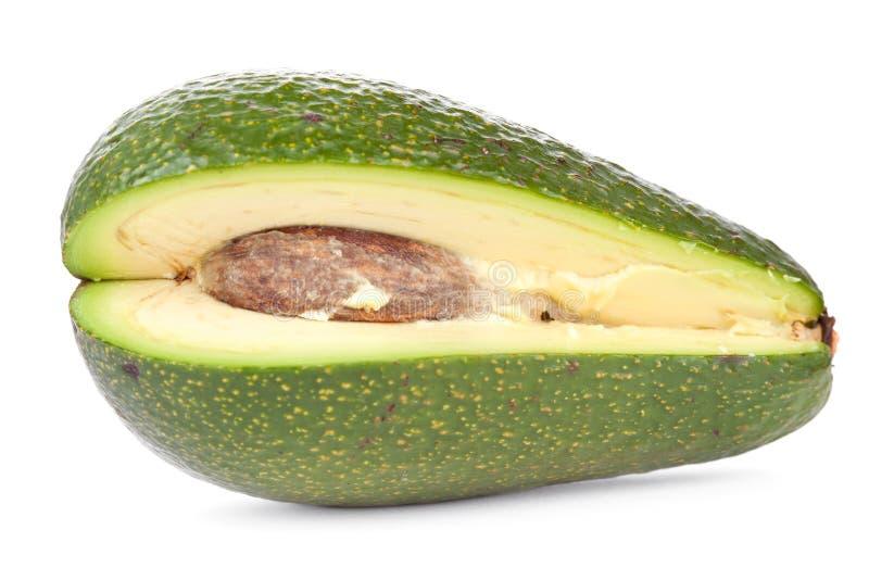 Avocado met binnen been stock afbeelding