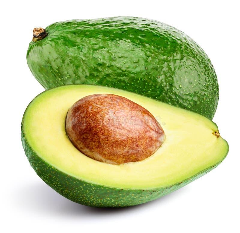 Avocado na biel zdjęcia royalty free