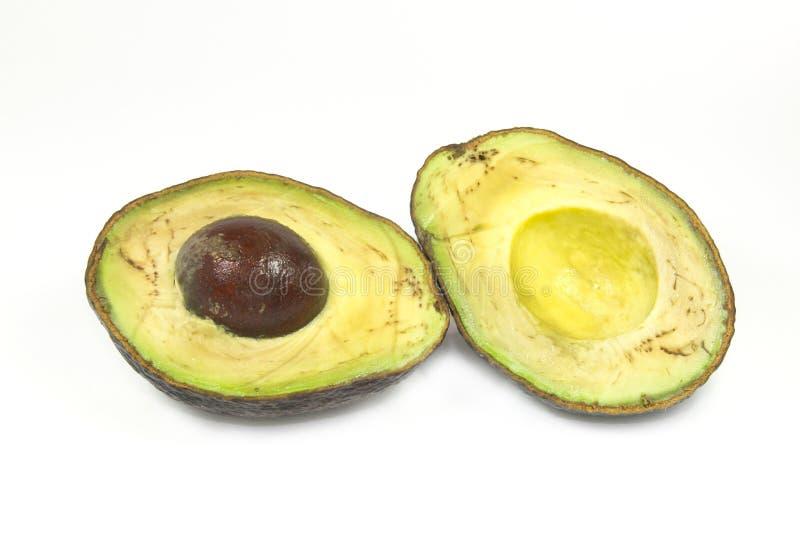 avocado przegniły zdjęcia stock