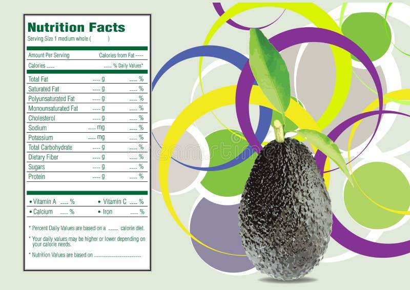 Avocado's stock illustratie