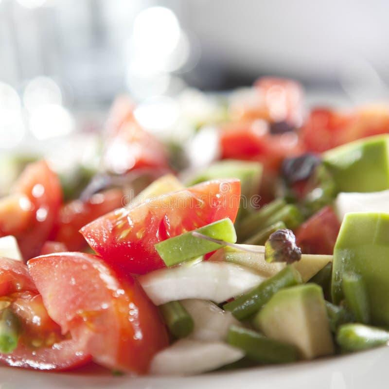 Free Avocado Salad Royalty Free Stock Photography - 22342027