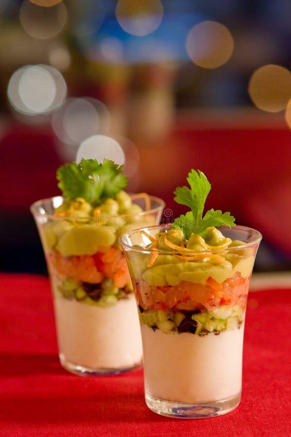 Free Avocado,salmon And Cream Cheese Stock Photo - 12590340