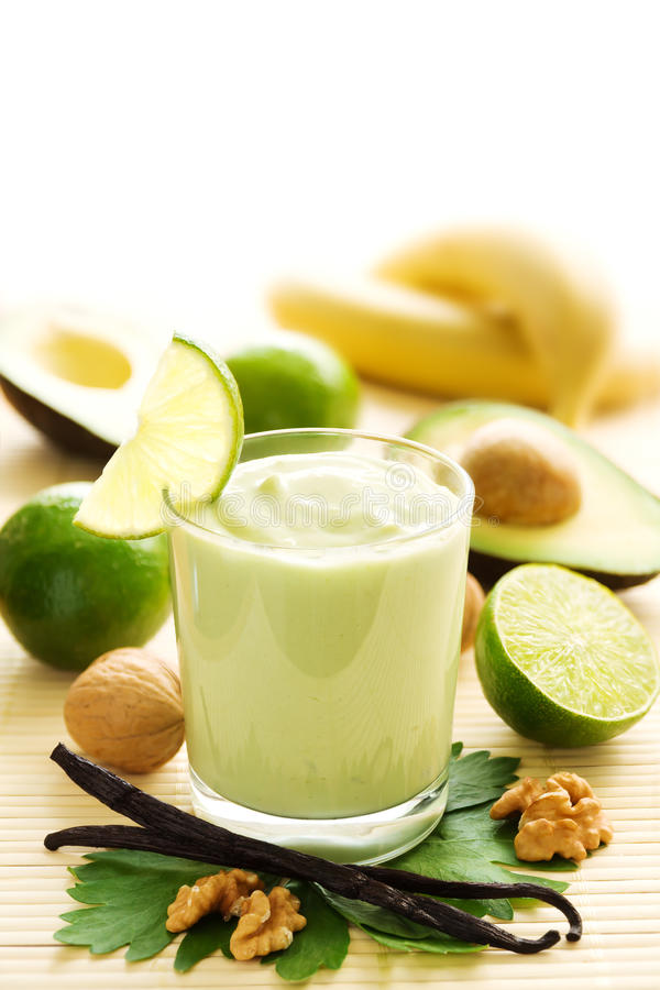 avocado smoothie fotografia royalty free