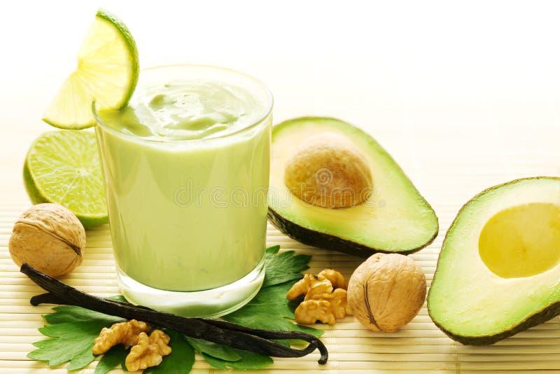 avocado smoothie wanilia zdjęcia royalty free