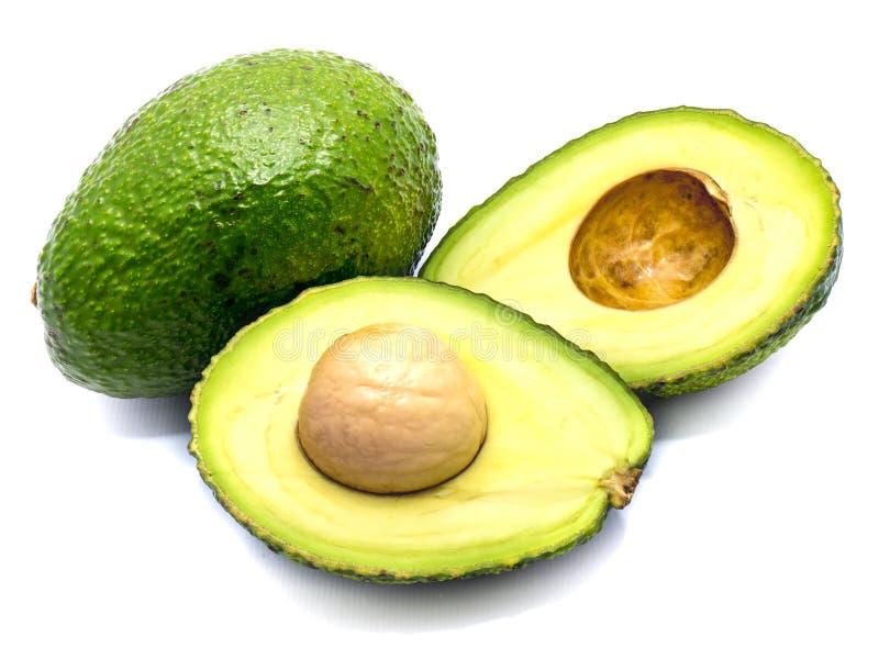 avocado tła odosobniony biel fotografia royalty free