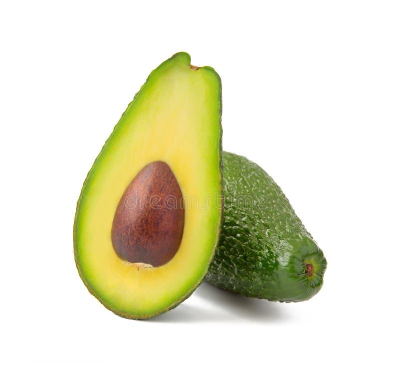 avocado tła odosobniony biel obrazy royalty free