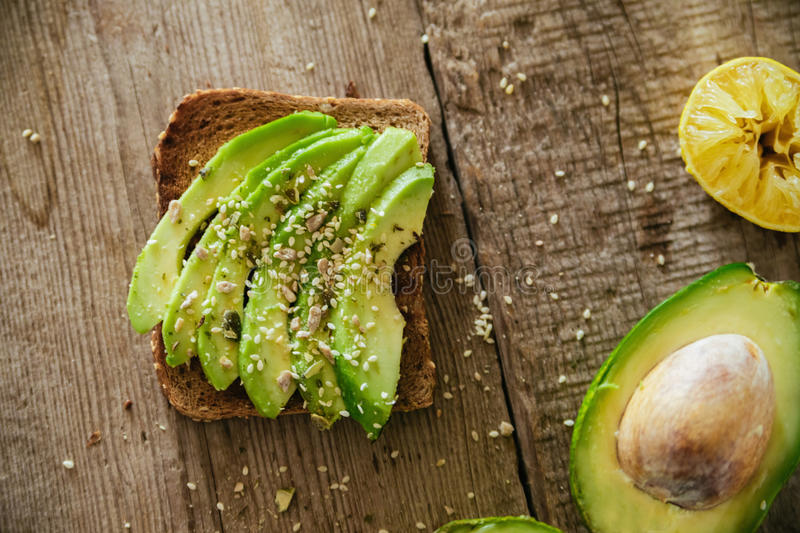 Avocado Toast stock images