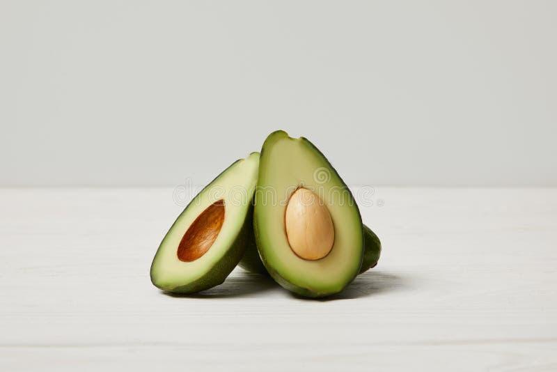 avocado verde organico, pulito fotografia stock