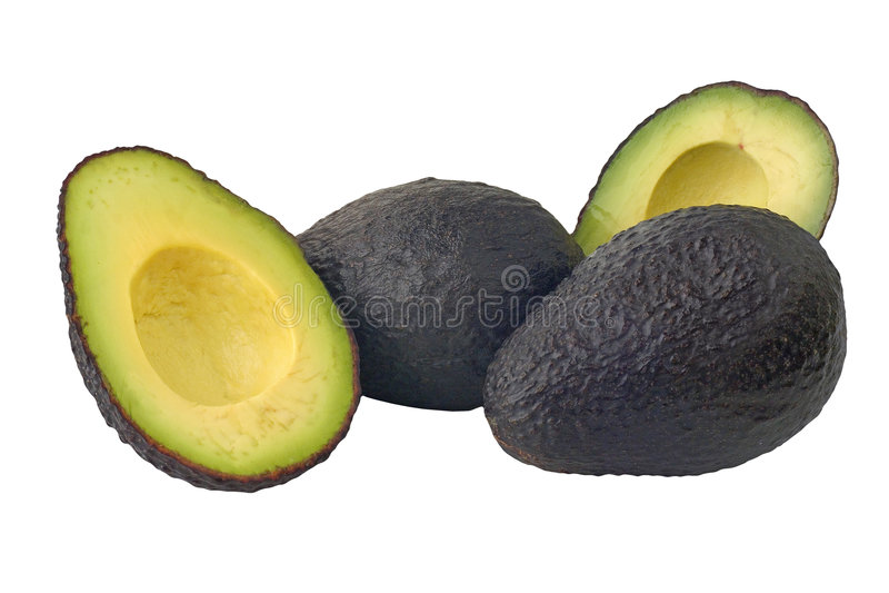 Avocados stock image