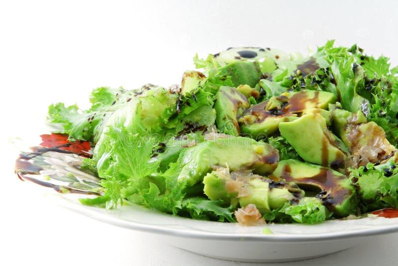 Avocadosalade stock foto