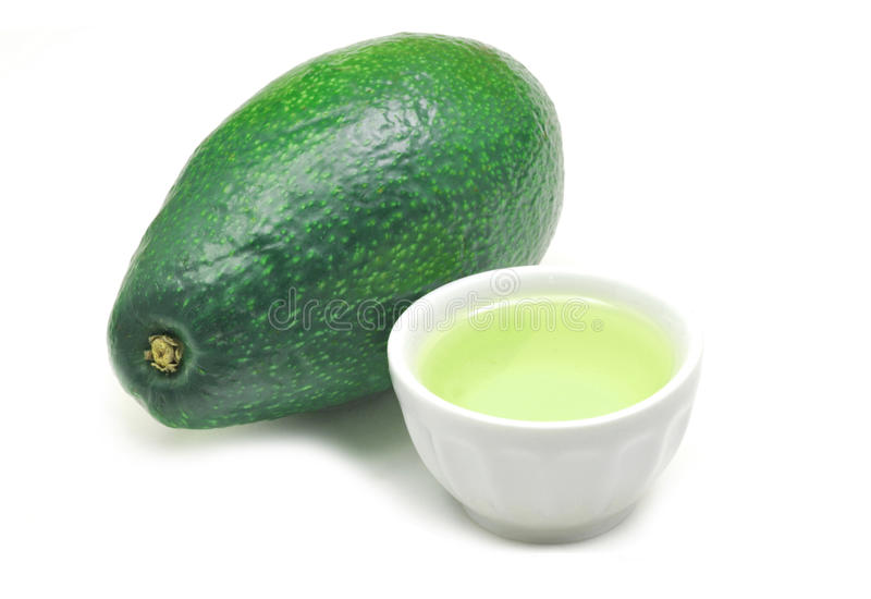 Avocadoschmieröl lizenzfreies stockbild