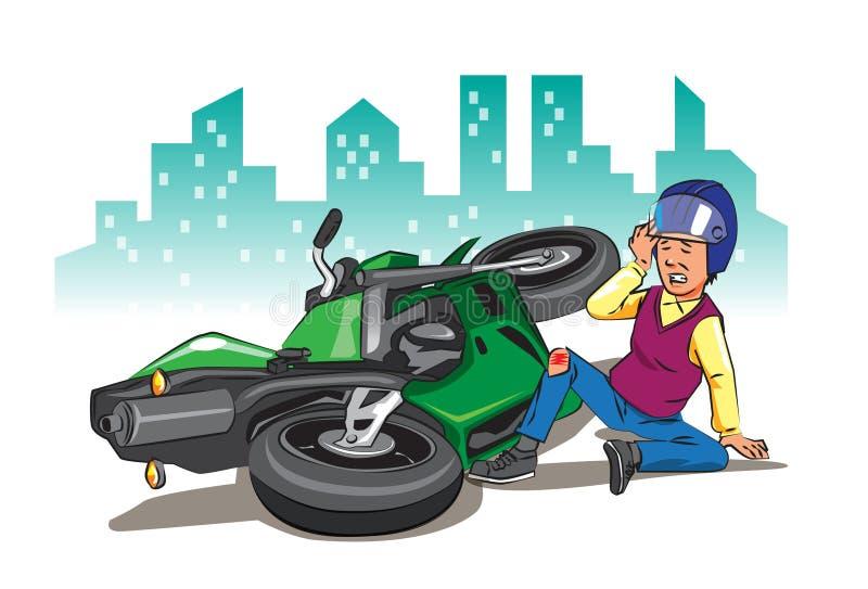 Avoid que conduce accidentes libre illustration