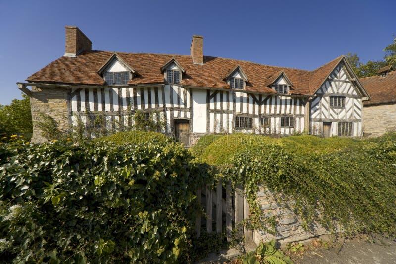 Avon英国stratford warwickshire 免版税库存照片