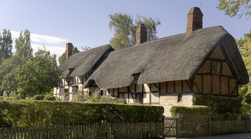 avon england stratford warwickshire royaltyfria bilder