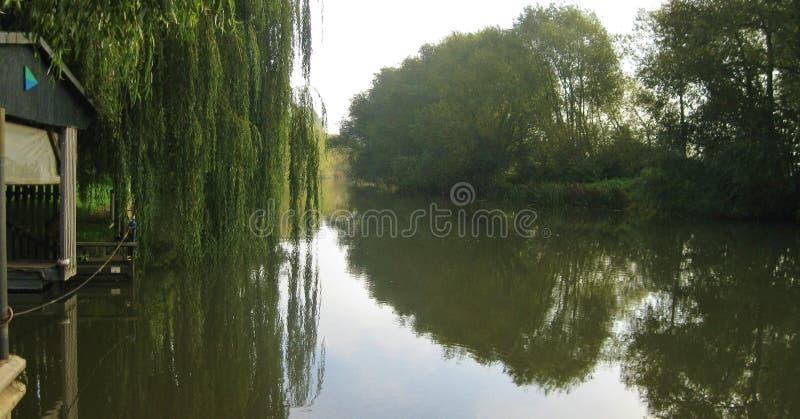 avon flod royaltyfri bild