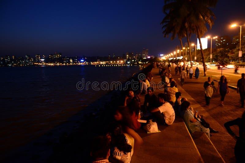 Avond Mumbai stock afbeelding