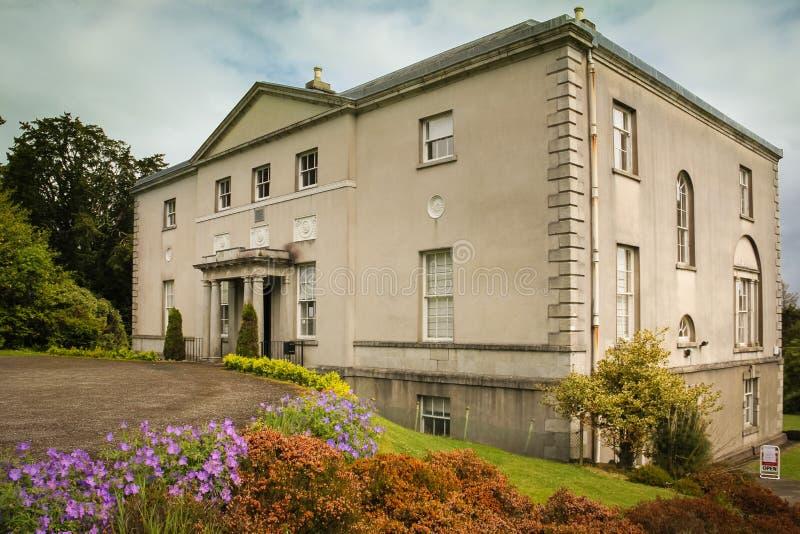 Avondale hus Avondale Wicklow ireland arkivbilder
