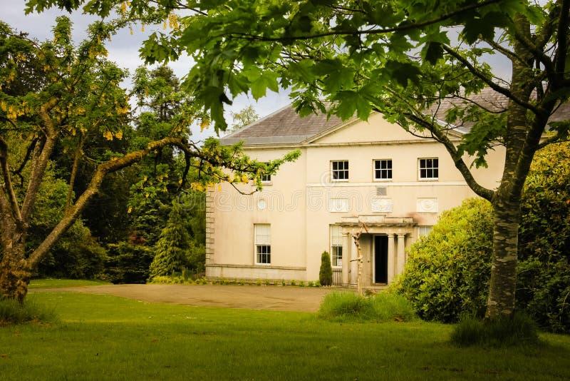 Avondale hus Avondale Wicklow ireland arkivfoton