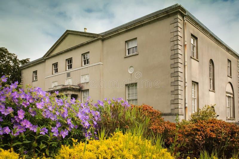 Avondale hus Avondale Wicklow ireland fotografering för bildbyråer