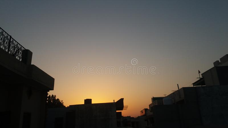 avonden stock afbeelding