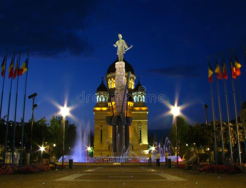Avram Iancu Square, Cluj-Napoca, Romania 2 royalty free stock photos