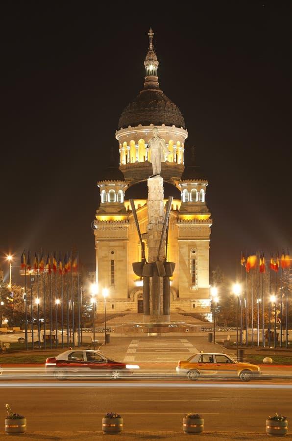 Download Avram Iancu Square In Cluj Napoca,Romania Stock Photo - Image: 9526420