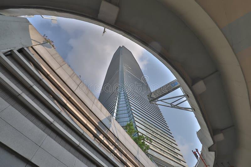22 avril 2019 bureau occidental de Kowloon au HK image stock