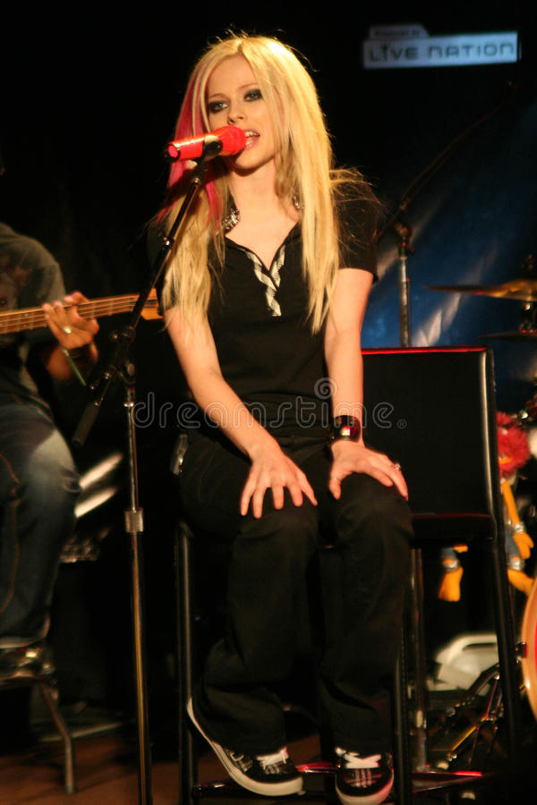 avril lavigne obraz royalty free