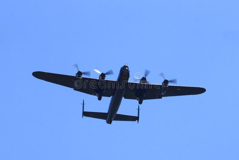 Avro Lancaster Bomber In Flight Editorial Photography