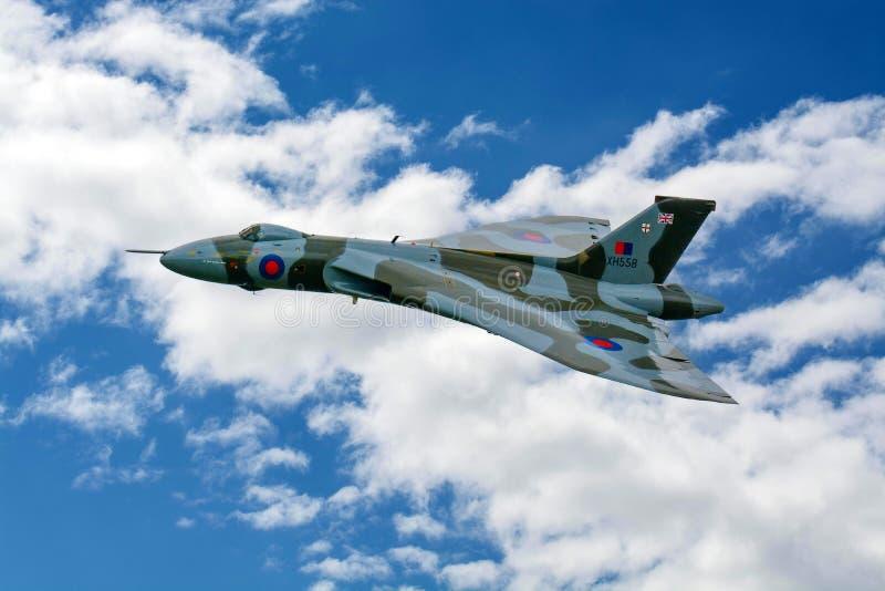 AVRO Vulcan XH558 fotografia stock libera da diritti