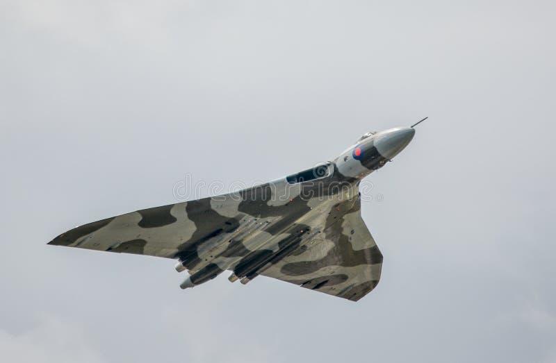 AVRO Vulcan XH558 obrazy royalty free