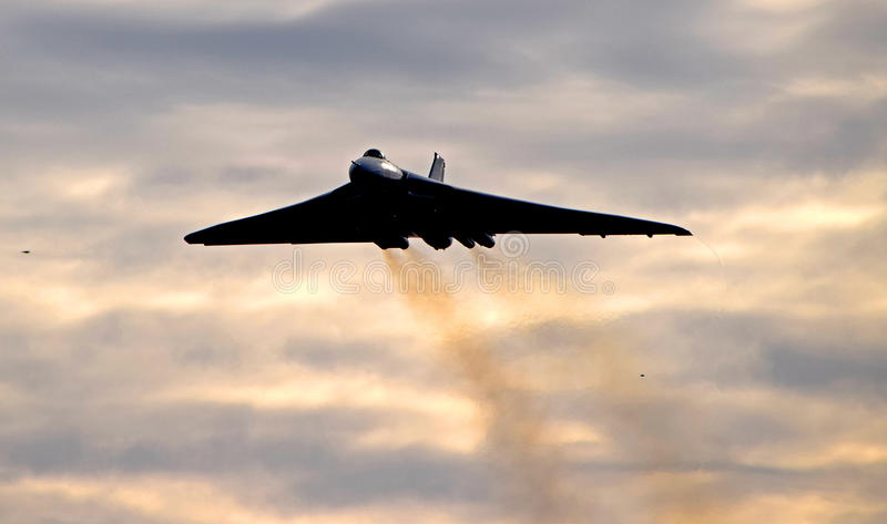 AVRO Vulcan XH558 zdjęcia royalty free