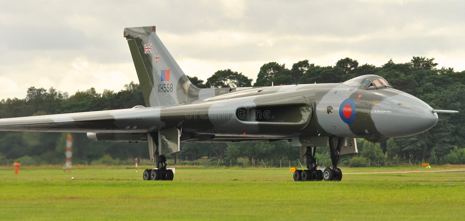 Avro Vulcan stock photography