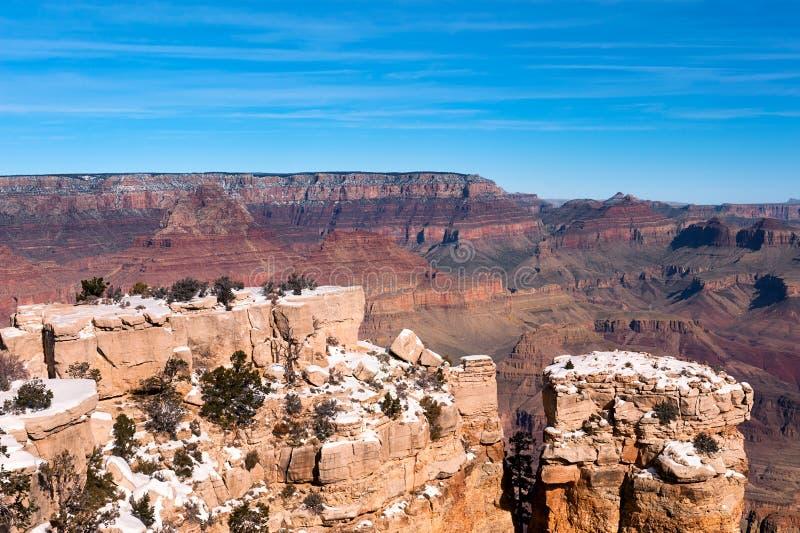 Avsats på grandet Canyon royaltyfri foto