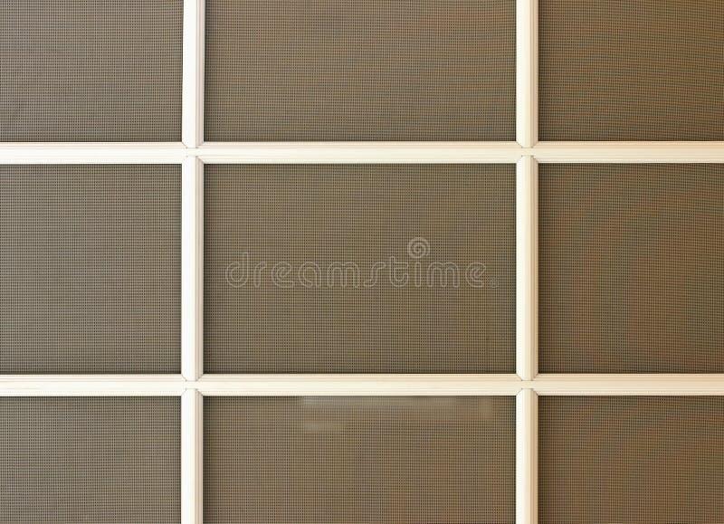 avskärmt fönster arkivbilder
