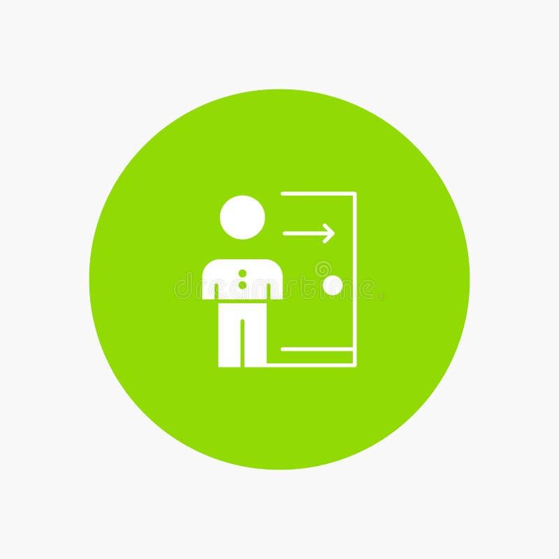 Avskedande anställd, utgång, jobb, friställning, person som är personlig stock illustrationer