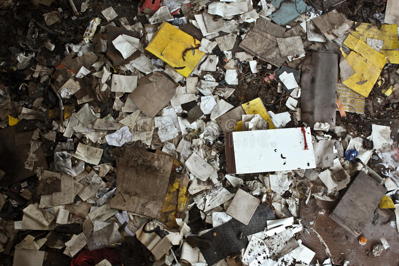 avskräde arkivfoton